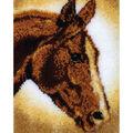 Wonderart Classic Latch Hook Kit 20\u0022X30\u0022-Horse