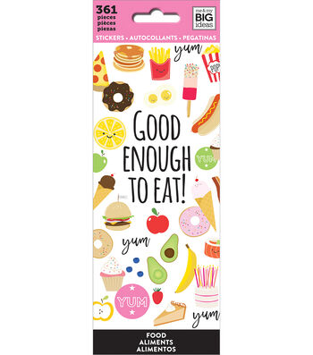 The Happy Planner Stickers-Food