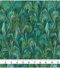 Premium Wide Cotton Fabric 108\u0022-Oil Slick Teal