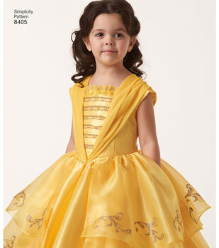 Simplicity Pattern 8405 Children's & 18'' Doll Costume-Size A (3-8)