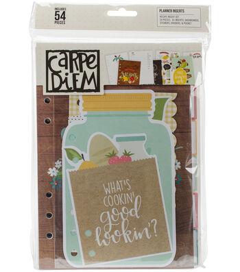 Carpe Diem Recipe A5 Planner Inserts