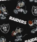 Oakland Raiders Fleece Fabric-Mickey