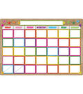 Smart Poly Burlap Stitched Classroom Charts 13\u0022x19\u0022 Set of 7