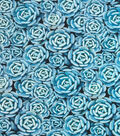 Novelty Cotton Photo Real Fabric 44\u0022-Succulent