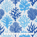 P/K Lifestyles Studio Outdoor Fabric-Coral Study Tide