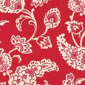 Home Decor 8\u0022x8\u0022 Swatch Fabric-Williamsburg Pelham Pomegranate Jewel