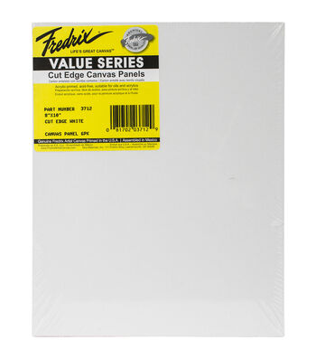 "Tara Fredrix Cut Edge Canvas Panel 6/Pkg-8""X10"""