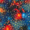 Novelty Cotton Fabric-Stargazers Stars
