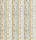 Home Decor 8\u0022x8\u0022 Fabric Swatch-Print Fabric Eaton Square Shield Duck Egg