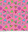 Girl Scouts Cotton Fabric -Brownie Badge