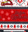 St. Louis Cardinals Fleece Fabric 58\u0022-Winter