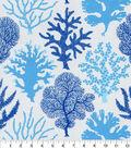PKL Studio Outdoor Fabric 9\u0022x9\u0022 Swatch-Coral Study Tide