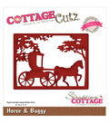 CottageCutz Elites Die-Horse & Buggy