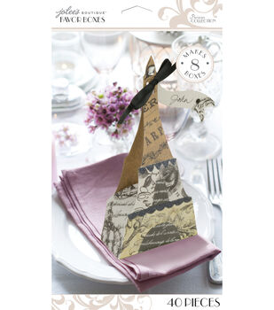 Jolee's Boutique Parisian Eiffel Tower Favor Boxes