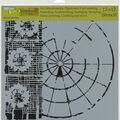 The Crafter\u0027s Workshop Rebekah Meier 12\u0027\u0027x12\u0027\u0027 Stencil-Floral Radar