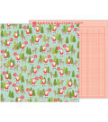 Merry Merry Double-Sided Cardstock 12\u0022X12\u0022-North Pole
