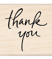 Inkadinkado Rubber Stamp-Thank You, , hi-res