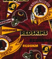 Washington Redskins Fleece Fabric -Retro, , hi-res