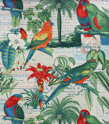 Solarium Outdoor Decor Fabric 54''-El Centro Parrot