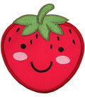 Simplicity Strawberry Baby Felt Iron-on Applique-Cute Smiley Face