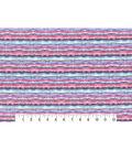Premium Cotton Print Fabric 43\u0027\u0027-Teal Watercolor Stripes