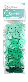 Ombre Mint Green