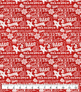 Super Snuggle Flannel Fabric-Christmas Cookie Baking