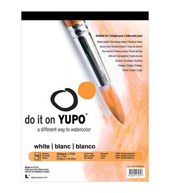 Yupo Paper 10ct 9''x12''-White