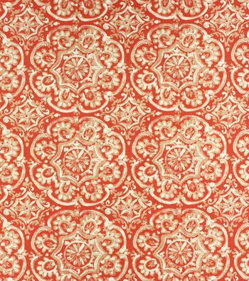 Solarium Outdoor Print Fabric 54''-Coral Westphalia