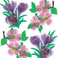 Jolee\u0027s Boutique Dimensional Spring/Easter Stickers-Dogwood/Crocus Flwrs