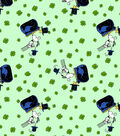 Snoopy and Woodstock Cotton Fabric-Pot of Gold