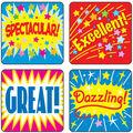 Carson Dellosa Positive Words Motivational Stickers, 120 Per Pack