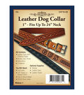 Realeather Crafts- Leather Dog Collar 1\u0022