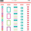 The Happy Planner Sticker Rolls-Home Life