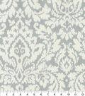 Home Decor 8\u0022x8\u0022 Fabric Swatch-Waverly Dashing Damask SD Silver