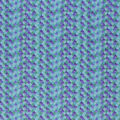 Novelty Cotton Fabric-Turquoise Glitter Mermaid Scales