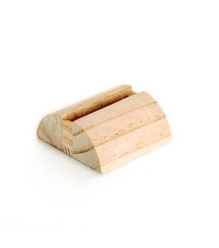 Dimensions Wood Hoop Stand