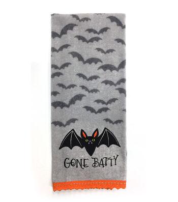 Maker's Halloween 16''x28'' Towel-Gone Batty