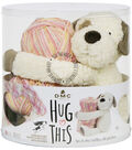 DMC Hug This! Puppy Diamond Baby Blanket Yarn Kit
