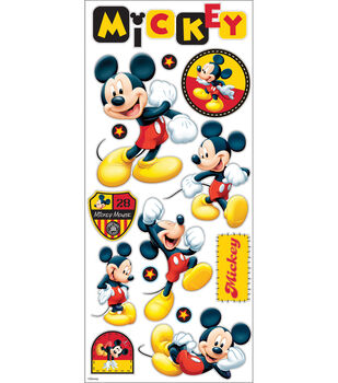 Disney 14 Pack Large Stickers-Mickey Mouse