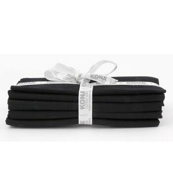 Kona Pre-Cut Fabric Bundle-Black