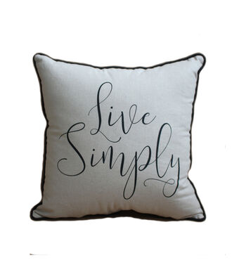 Hudson 43 Farm 18''x18'' Print Pillow-Live Simply