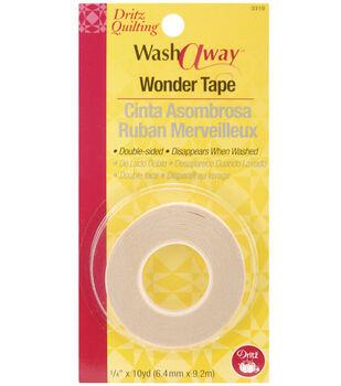 """Dritz Quilting Washaway Wonder Tape-1/4""""W x 10yds"""