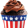 Cupcake Creations-Standard Baking Cups 32/Pk-Stars & Stripes