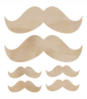 Moustache-Wood Flourishes, , hi-res