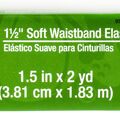 Dritz 1 1/2\u0022 Soft Waistband Elastic Berry