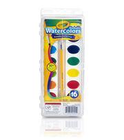 Crayola Watercolor Pan Set 16 Colors, , hi-res