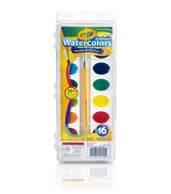 Crayola Watercolor Pan Set 16 Colors