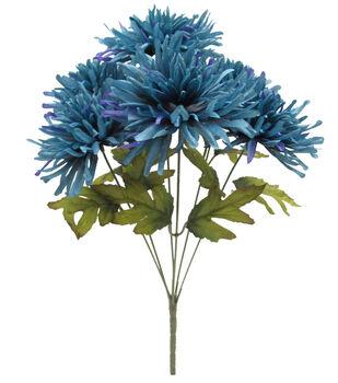 Blooming Autumn 18'' Mum Bush-Dark Blue