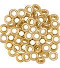 Fiskars Lia Griffith 50 pk 0.18\u0027\u0027 Eyelets-Gold